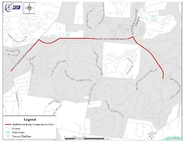 bjwsa project limits map